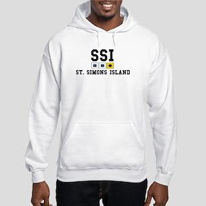 St. Simons Island GA Hooded Sweatshirt