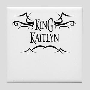 King Kaitlyn Tile Coaster