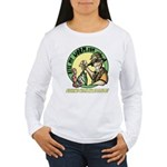 Bite My Worm Logo Women's Long Sleeve T-Shirt