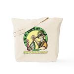 Bite My Worm Logo Tote Bag