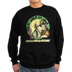 Bite My Worm Logo Sweatshirt (dark)
