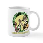 Bite My Worm Logo Mug