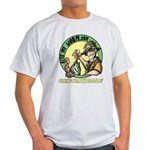 Bite My Worm Logo Light T-Shirt