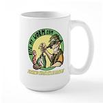Bite My Worm Logo Large Mug