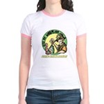 Bite My Worm Logo Jr. Ringer T-Shirt