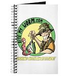 Bite My Worm Logo Journal