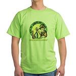 Bite My Worm Logo Green T-Shirt