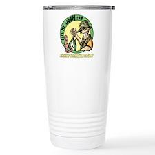 Bite My Worm Logo Stainless Steel Travel Mug