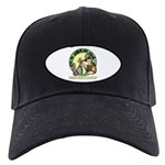 Bite My Worm Logo Black Cap
