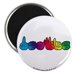 DEAFIE Rainbow Magnet