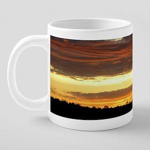 Sunrise0103mug 20 oz Ceramic Mega Mug