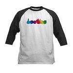DEAFIE Rainbow Kids Baseball Jersey