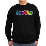 DEAFIE Rainbow Sweatshirt (dark)