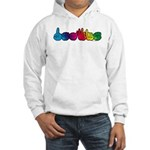 DEAFIE Rainbow Hooded Sweatshirt