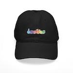 DEAFIE Pastel Black Cap