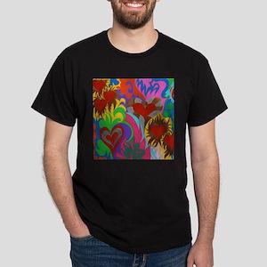 Hearts on Fire Dark T-Shirt