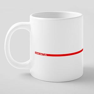 cardiogramma 20 oz Ceramic Mega Mug