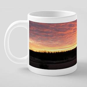 Sunrise0141mug 20 oz Ceramic Mega Mug