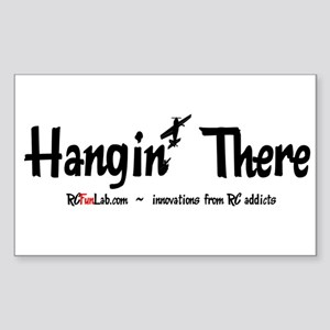 Hangin' There Rectangle Sticker