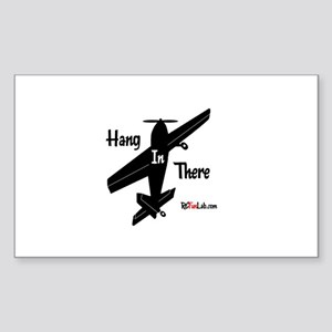Hang in There Rectangle Sticker