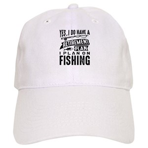 82ffcc1088f Retirement Fishing Hats - CafePress