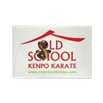 Old School Kenpo Karate Rectangle Magnet (100 pack