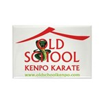 Old School Kenpo Karate Rectangle Magnet