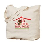 Old School Kenpo Karate Tote Bag