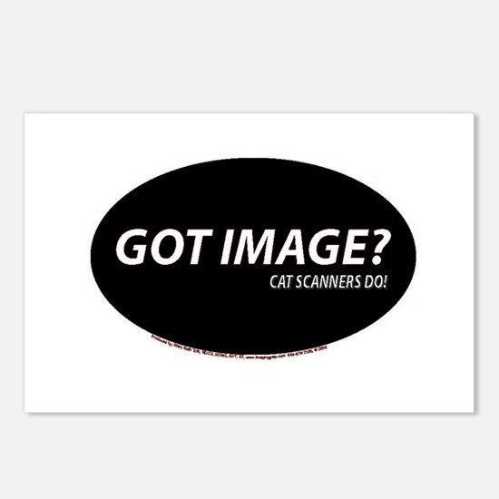 Cat Scanners Got image Postcards (Package of 8)