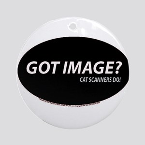 Cat Scanners Got image Ornament (Round)