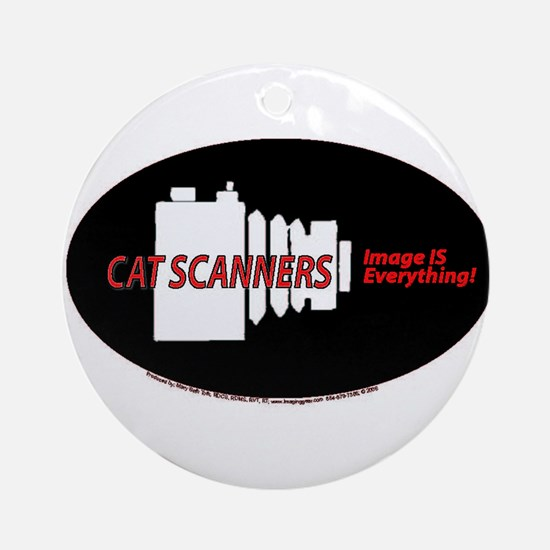 Cat scanners camers Ornament (Round)
