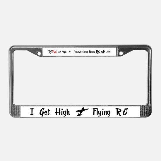I Get High License Plate Frame