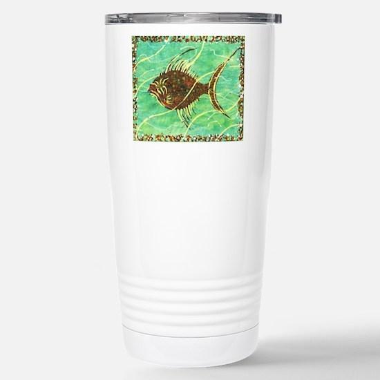 Fish 1 Stainless Steel Travel Mug