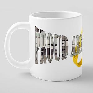 proudhusband 20 oz Ceramic Mega Mug
