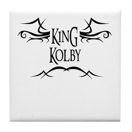King Kolby Tile Coaster