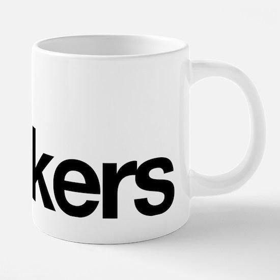 Bus Wankers 20 oz Ceramic Mega Mug