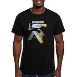 Handler Prayer - Touch Men's Fitted T-Shirt (dark)
