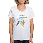 Handler Prayer - Touch Women's V-Neck T-Shirt