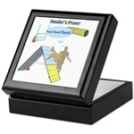 Handler Prayer - Touch Keepsake Box