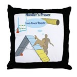 Handler Prayer - Touch Throw Pillow