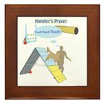 Handler Prayer - Touch Framed Tile
