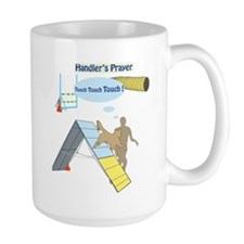 Handler Prayer - Touch Large Mug