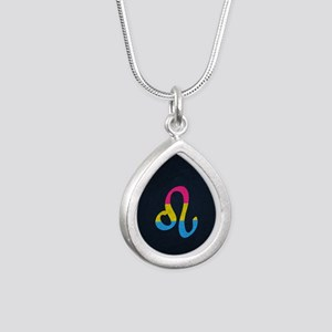 Pansexual Pride Flag Leo Zodiac Sign Necklaces