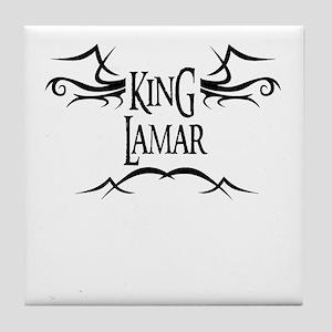 King Lamar Tile Coaster