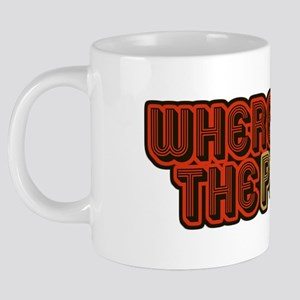 WHERESTHEPOOPlight 20 oz Ceramic Mega Mug