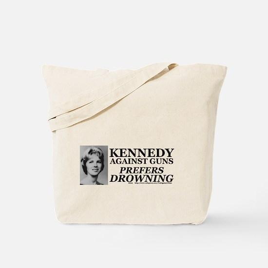 Kennedy Against Guns Tote Bag