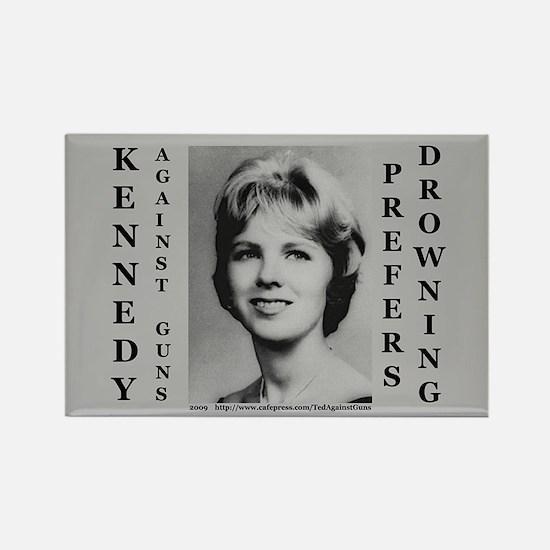Kennedy Against Guns Rectangle Magnet