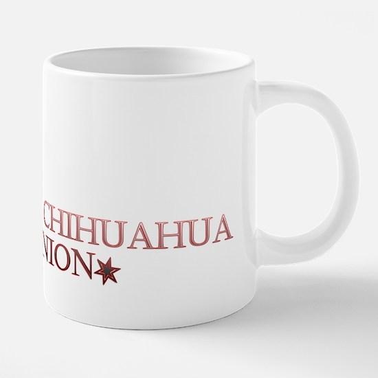 chihuahua union 20 oz Ceramic Mega Mug
