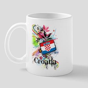 Flower Croatia Mug