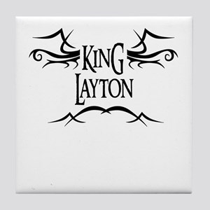 King Layton Tile Coaster